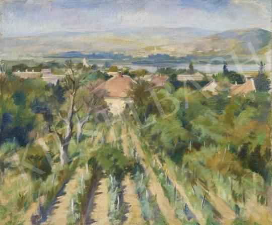 Eladó Ismeretlen magyar festő - Magyar táj festménye