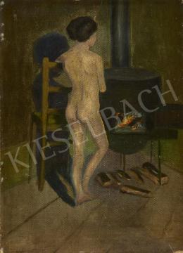 Ismeretlen festő - Műteremben