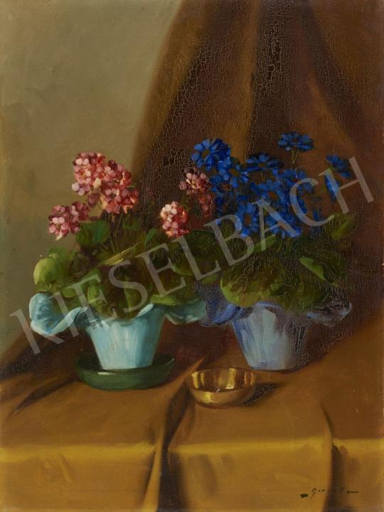 For sale Murin, Vilmos - Still Life with Flowers 's painting