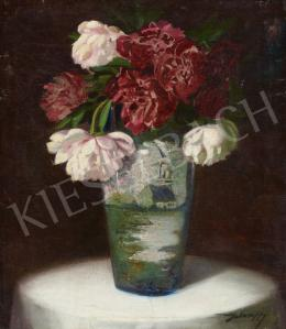 With a sign of Jelenffy - Still Life with a Dutch Vase (c. 1920)