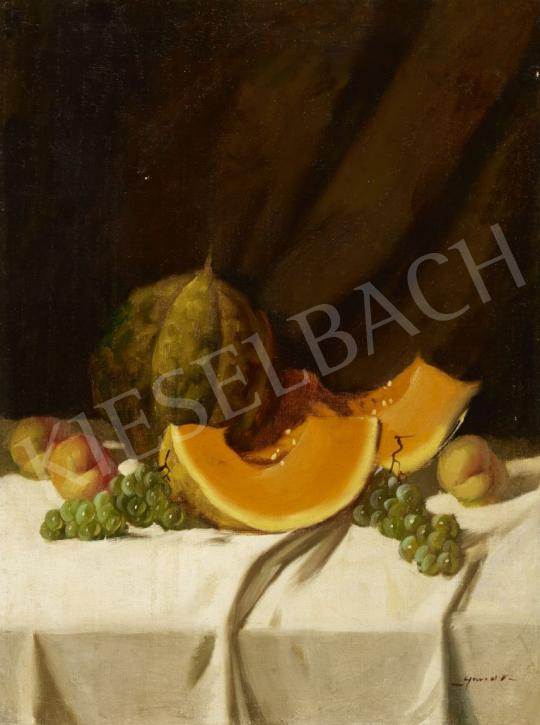 For sale Murin, Vilmos - Still Life with Autumn Fruits 's painting