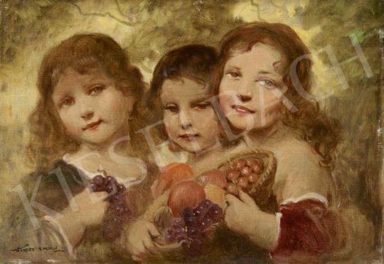 Eladó Veress Zoltán - Az ősz allegóriája festménye