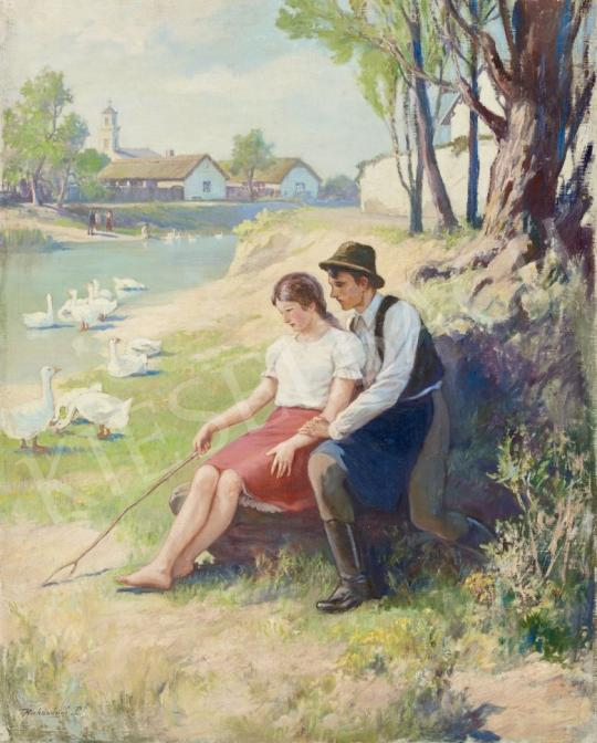 For sale Raksányi, Rezső - Lovers 's painting