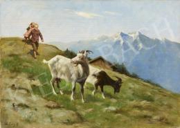Halasy Géza - Kecskék