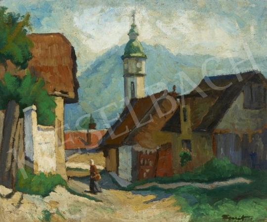 For sale Unknown Hungarian painter - Nagymaros 's painting