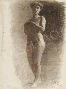 Ismeretlen festő - Női akt