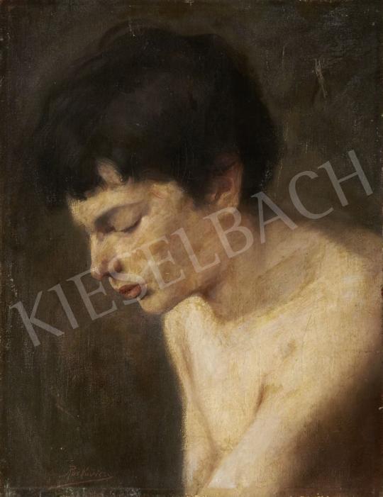 Eladó Roskovics Ignác - Hölgy profilból festménye
