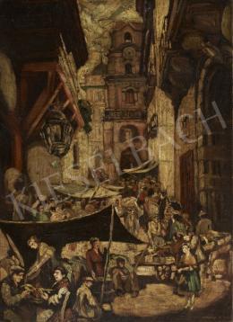 Károlyi Andor - Mediterrán piac (1923)