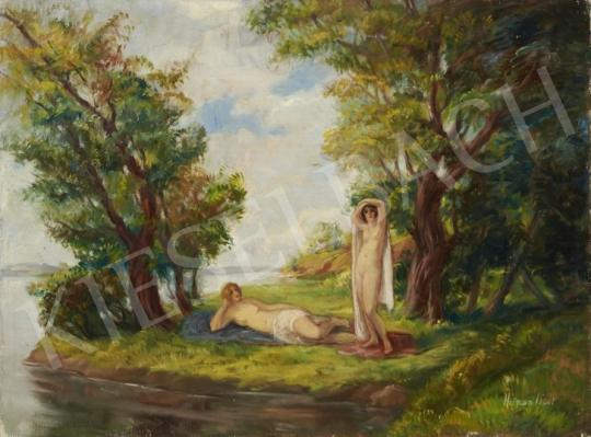 For sale  Herman, Lipót - Lakeside 's painting