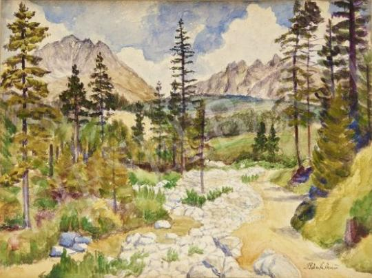 Eladó Bánk Ernő - Táj festménye