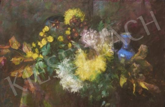 Eladó Páldy Zoltán - Virágcsendélet festménye