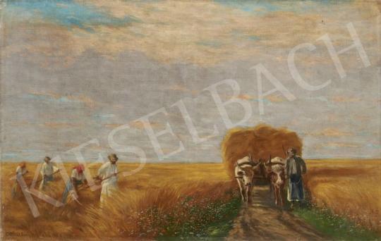 Eladó Erdőssy Béla - Aratás festménye