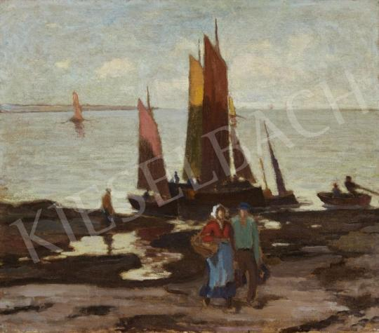 Balla Béla - Tengerparton festménye