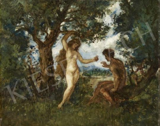 For sale  Herman, Lipót - Adam and Eve 's painting