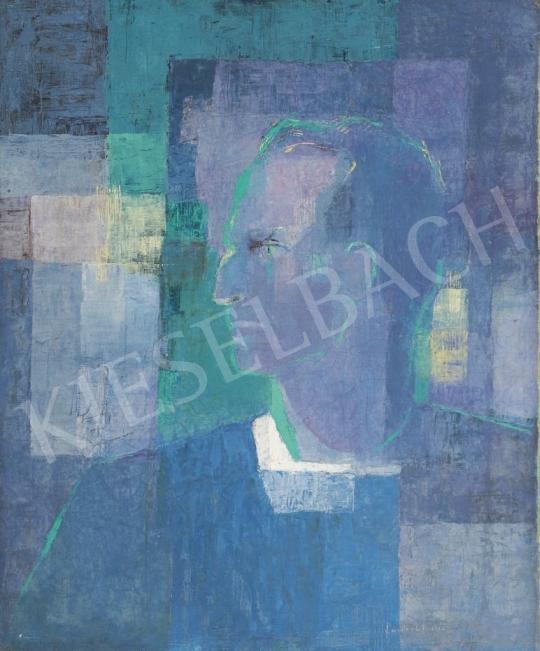 Ney László - Zöld fényben festménye