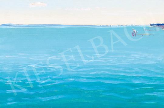 Molnár C. Pál - Kék tó (Balaton) | 52. Tavaszi Aukció aukció / 1 tétel