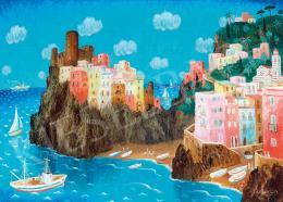Pekáry István - Olasz tengerpart (Portofino)