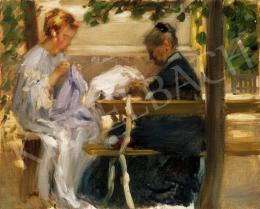 Vaszary János - Varró nők (1906)