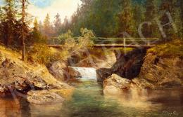Telepy Károly - Tátrai vízesés (Barlangligeti vízesés)