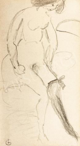 Gulácsy Lajos - A fekete harisnya