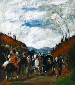 Rudnay, Gyula - Horse-Riders