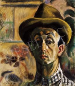 Vörös, Géza - Self-Portrait
