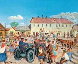 Győri Elek - Ötvenhárom nyara (Kék traktor, kék ég plusz a nép), 1953