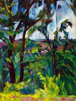 Aba-Novák Vilmos - Rálátás Felsőbányára, 1925