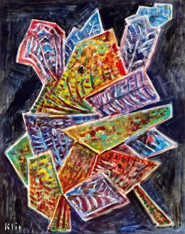 Klie Zoltán - Kompozíció levelekkel