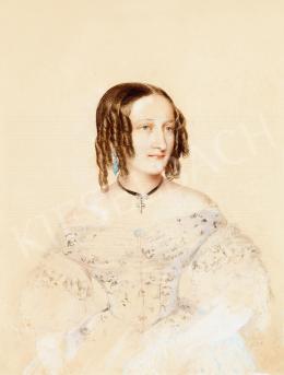 Barabás Miklós - Arisztokrata hölgy fehér ruhában (Gróf Desewffy Emilné), 1838
