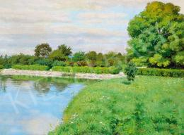 Glatz, Oszkár - By the Lake, 1913