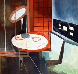 Fekete Nagy Béla - Nagyvárosi fények (Bauhaus kávéház), 1930-as évek