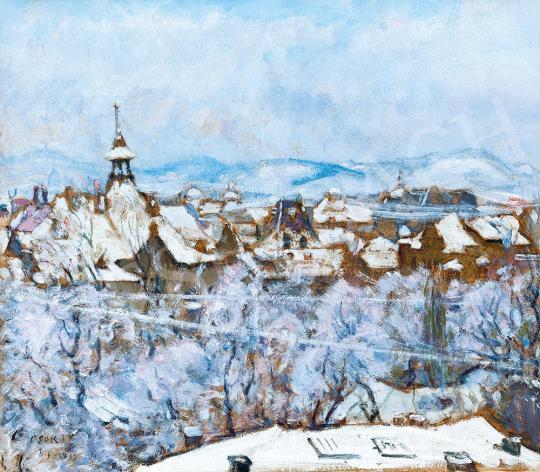 Csók István - A téli Budapest, 1915 | 52. Tavaszi Aukció aukció / 107 tétel