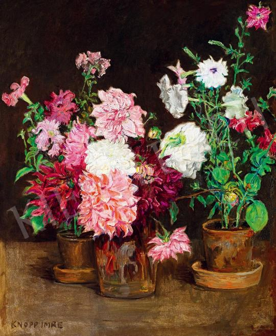 Knopp, Imre - Still-Life of Flowers | 52nd Spring Auction auction / 116 Item