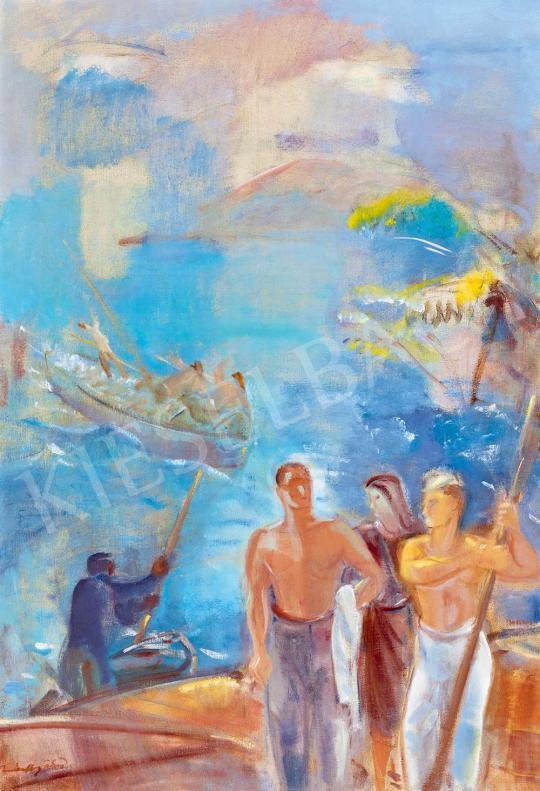Márffy Ödön - Halászok | 52. Tavaszi Aukció aukció / 124 tétel