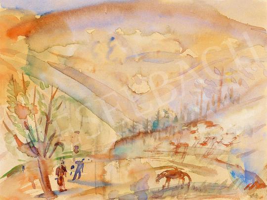 Márffy Ödön - Tájkép ősszel | 52. Tavaszi Aukció aukció / 137 tétel