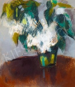 Bernáth Aurél - Fehér virágok