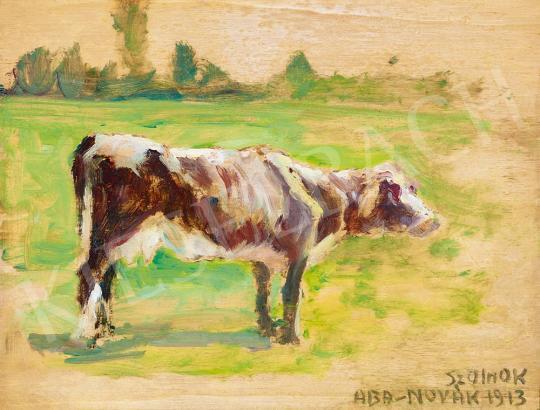 Aba-Novák, Vilmos - Calf (Artist Colony in Szolnok), 1913 | 52nd Spring Auction auction / 164 Item