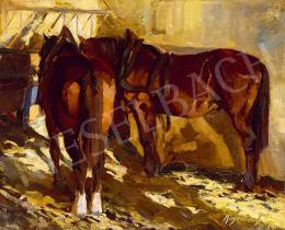 Kieselbach Géza - Lovak, 1919