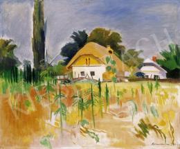 Bornemisza Géza - Ház napraforgóval
