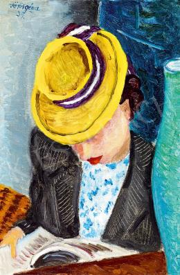 Vörös, Géza - In a Yellow Hat, 1939