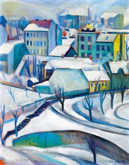 Schönberger, Armand - Winter Town (Rose Hill)