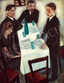 Rauscher György - Asztal körül (Tor)