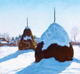 Börtsök Samu - Boglyák télen (Nagybánya)