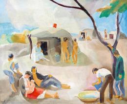 Patkó Károly - Déli napsütés, 1932