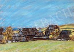 Nagy István - Erdélyi falu, 1914