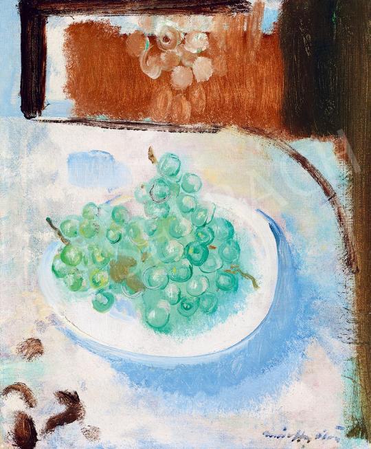 Márffy Ödön - Csendélet (Kék harmónia) | 52. Tavaszi Aukció aukció / 207 tétel