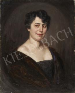 Endrey Sándor - Középkorú hölgy