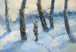 Hollós C jelzéssel - Vadászok találkozása a téli erdőben