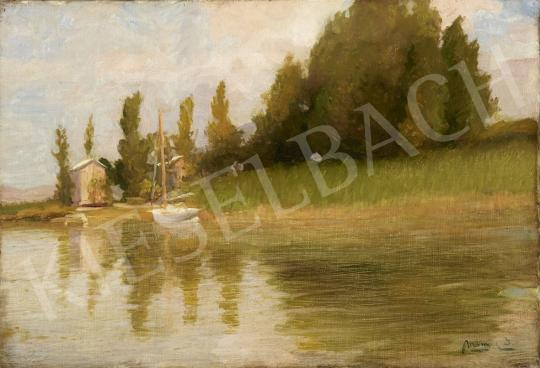 For sale  Mányai, József - Lake Balaton 's painting